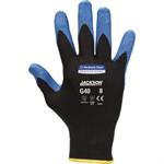 JACKSON SAFETY Arbeitshandschuh G40 11 Nylon/Nitril schwarz/blau 12 Paar/Pack.