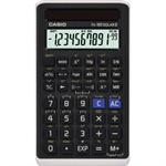 CASIO® Schulrechner FX-82 SOLAR II 1 x 10+2-stellig 144 Funktionen schwarz