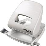 Leitz Locher New NeXXt Style 8 cm 30 Bl. (80 g/m²) mit Anschlagschiene arktik weiß