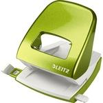 Leitz Locher New NeXXt WOW 8 cm 30 Bl. (80 g/m²) mit Anschlagschiene grün metallic