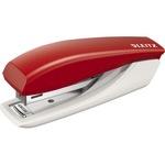 Leitz Heftgerät New NeXXt No. 10 fest/nageln 10 Bl. (80 g/m²) inkl. integriertem Entklammerer Metall/Kunststoff rot