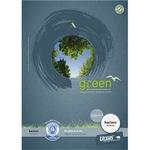 Ursus® Briefblock Green DIN A4 kariert 70g/m² premiumweiß 50 Bl.