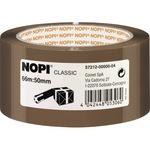 NOPI® Packband Classic 50 mm x 66 m (B x L) Polypropylen braun