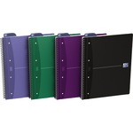 Oxford Collegeblock Office DIN A4+ liniert 90g/m² farbig sortiert (freie Farbauswahl nicht möglich) 90 Bl.