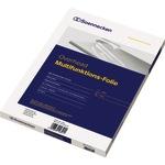 Soennecken Universalfolie DIN A4 100µm Polypropylen beidseitig beschichtet 50 Folien/Pack.
