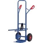 Fetra Sackkarre 58 x 130 cm (B x H) 300kg Stahl blau