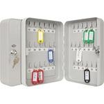 WEDO® Schlüsselschrank 18 x 25 x 6 cm (B x H x T) inkl. 2 Schlüssel Stahlblech, pulverbeschichtet lichtgrau