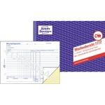Avery Zweckform Wochenbericht DIN A5 quer selbstdurchschreibend 1 Durchschlag 2 x 40 Bl.