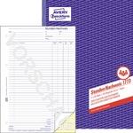 Avery Zweckform Stundennachweis DIN A4 selbstdurchschreibend 1 Durchschlag 2 x 40 Bl.