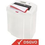 HSM® Aktenvernichter SECURIO C14 P-4, T-4, E-3, F-1 Partikelschnitt weiß
