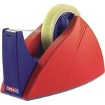 tesa® Tischabroller Easy Cut® Professional 25 mm x 66 m (B x L) rot/blau