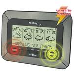 technoline® Wetterstation WD 4920 Station: 266 x 181 x 34 mm (B x H x T) LCD 100m mit Temperaturanzeige mit Datumsanzeige mit Funkuhr C/Baby, AA/Mignon inkl. Außensender TX35DTH