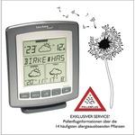 technoline® Wetterstation WD 9565 Station: 135 x 162 x 64, Außensender: 32 x 92 x 14 mm (B x H x T) LCD 100m mit Temperaturanzeige mit Datumsanzeige mit Funkuhr C/Baby, AAA/Micro inkl. Außensender TX38WD-IT