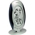 technoline® Wetterstation WS 9723 IT Station: 92 x 160 x 31 mm (B x H x T) LCD 100m mit Temperaturanzeige mit Datumsanzeige mit Funkuhr AA/Mignon inkl. Außensender TX29-IT