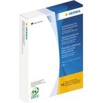HERMA Druckmaschinenetikett DP1 34 x 53 cm (B x H) stark haftend Papier gelb 280 Bl./Pack. 2.500 Etik./Pack.
