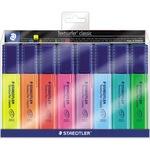 STAEDTLER® Textmarker Textsurfer® classic 364 1-5mm gelb, rot, pink, blau, türkis, orange, grün, violett 8 St./Pack.