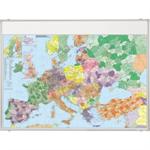 Franken Landkartentafel 138 x 98 cm (B x H) Europa