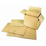 Versandkarton Außenmaße: 50 x 10 x 10 cm (B x H x T) Wellpappe braun