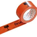 Signalklebeband 50 mm x 66 m (B x L) Polypropylen orange Bruchgefahr