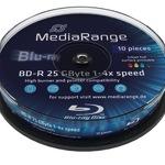 MediaRange BD-R 25GB 10er Spindel MR496 bedruckbar