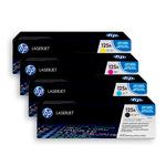 HP Toner Multipack CB540/CB541/CB542/CB543A