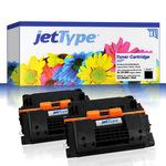jetType Toner Doppelpack kompatibel zu HP CC364XD 64XD