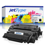 jetType Toner kompatibel zu HP CE255X 55X