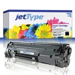 jetType Toner kompatibel zu HP CE285A 85A