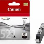 Canon Tinte 2933B001 CLI-521  BK