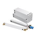 tidyPac® Versandhülse 7,5 x 7,5 x 75 cm (B x H x L) mit Steckverschluss Wellkarton weiß