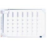 Legamaster Mehrzweckplaner Accents Linear Cool 90 x 60 cm (B x H) 5 Mitarbeiter/Projekte blau