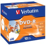 Verbatim DVD-R 4,7GB/120 Min 10er Jewel Case 43521