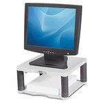 Fellowes® Monitorständer Premium 33,65 x 16,82 x 34,29 cm (B x H x T) 36kg höhenverstellbar Kunststoff platin