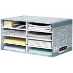 Bankers Box® Briefablage System DIN A4 Karton, 100 % recycelt Farbe: grau/weiß