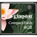 Kingston CF (Compact Flash) 4GB CF/4GB Flash