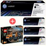 Original HP CE320/21/22/23 Toner Multipack BK/C/M/Y