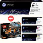 HP Toner Multipack CF400A + CF401A / 02A / 03A