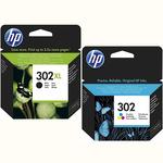 HP Tinte Multipack F6U68/5AE 302XL/302