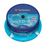 Verbatim CD-R 700MB/80 Min 25er Spindel 43352