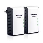 TP-Link TL-PA411KIT AV500 Mini Powerline Adapter Starter Kit - Bridge - HomePlug AV (HPAV) TL-PA411KIT