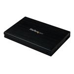 StarTech.com Externes 2,5 SATA III 6 GB/s SSD USB 3.0 SuperSpeed Festplattengehäuse mit UASP - 2,5 Zoll (6,4cm)