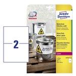 Avery Zweckform Etiketten, universal weiß 210 x