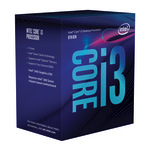 Intel Core i3 8100 Prozessor - 3.6 GHz - 4 Kerne - 4 Threads - BX80684I38100