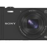 SONY Cybershot Digitalkamera DSC-WX350 Schwarz