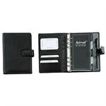 bind® Timer gefüllt Systemeinlage, ohne Kalender Nappaleder schwarz