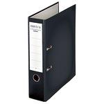 Centra Ordner Chromos 80mm DIN A4 Werkstoff: Kunststoff Material der Kaschierung außen: Plastik Material der Kaschierung innen: Papier schwarz