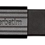 Verbatim USB Stick 8GB 49062 Store 'n' Go Pin Stripe USB Drive USB 2.0 schwarz