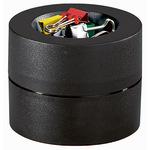 MAUL Klammernspender mauly® 7,3 x 6 cm (Ø x H) mit Klammer Kunststoff schwarz