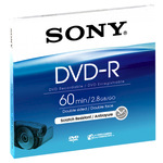 Sony DVD-R 2,8GB/60 Min 1er Jewel Case