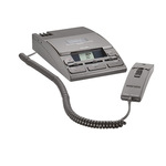 Philips Diktiergerät LFH0725 13,5 x 5 x 25,2 cm (B x H x T) MC inkl. Mikrofon LFH0276, Netzteil LFH0155, Mikrofonhalter schwarz